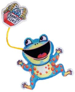 FUZZU Fast Food frog off pack