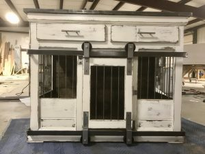 Kennel Crate Single White